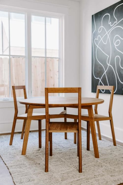 Tables by Lundy seen at Private Residence, Boulder - Georgette Dining Table