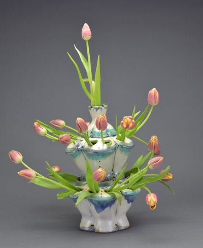Vases & Vessels by Pincu Pottery seen at Private Residence, Asheville - Tulipiere