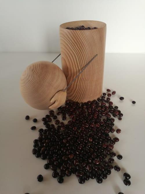 Big Head Jar | Tableware by woodappetit
