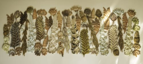 Sculptures by Kay Aplin seen at Private Residence, Brighton - Botanical Structures III