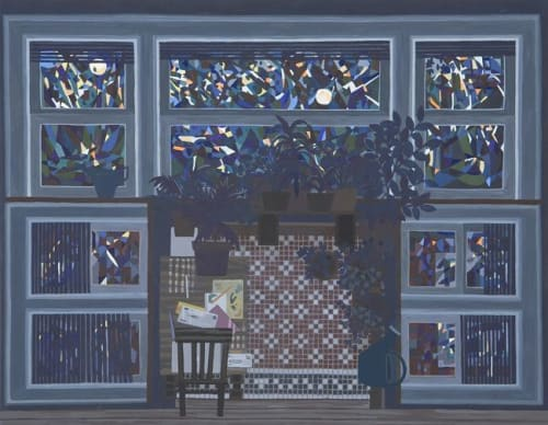 Paintings by Ann Toebbe seen at Private Residence, Chicago - Midnight, 2am, 4am