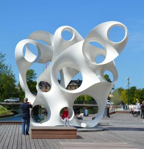 Public Sculptures by Eva Hild seen at Malmö, Malmö - Sculpture Rubato