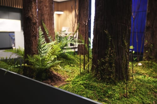 Wall Hangings by QUEST TERRARIUM seen at IFS International Finance Square No.2 Office Building, Chengdu Shi - GAGGENAU - Quest Moss Installation