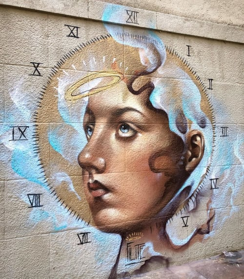 Murals by Filite seen at State of São Paulo - Innocence in the Eye