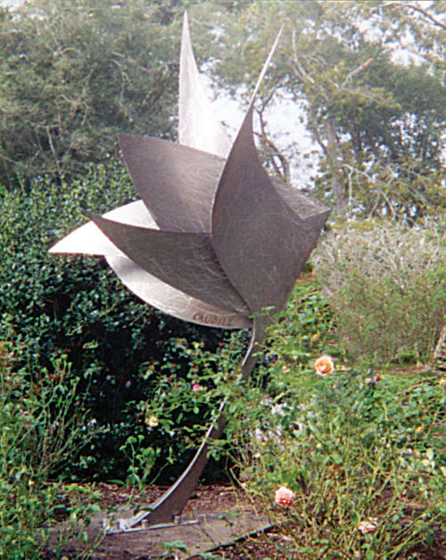 Public Sculptures by Dave Caudill seen at Rip Van Winkle Gardens, New Iberia - Fluttersong