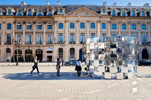 Public Sculptures by Arnaud Lapierre Design Studio seen at Paris Area, Paris - Ring