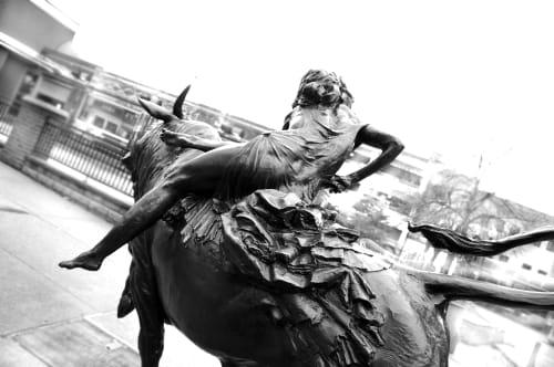 Public Sculptures by Joshua Koffman at Haddonfield, Haddonfield - Europa