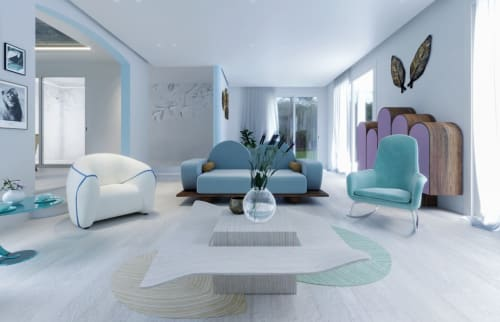 Interior Design by BRANA Designs seen at Private Residence - Chic Zen