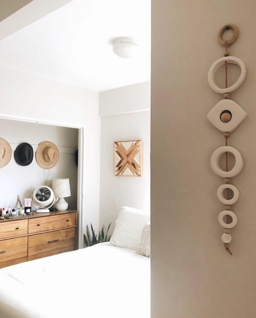 Wall Hangings by West Perro seen at Private Residence, Washington - Standing Ojo Wall Hanging
