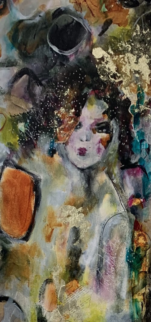 Paintings by Darlene Watson Fine Artist seen at Private Residence, Southampton - Veronica The Art Of Fashion