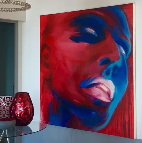 Paintings by Tracy Payne seen at Private Residence - Green Point, Cape Town, Cape Town - 'Rave'