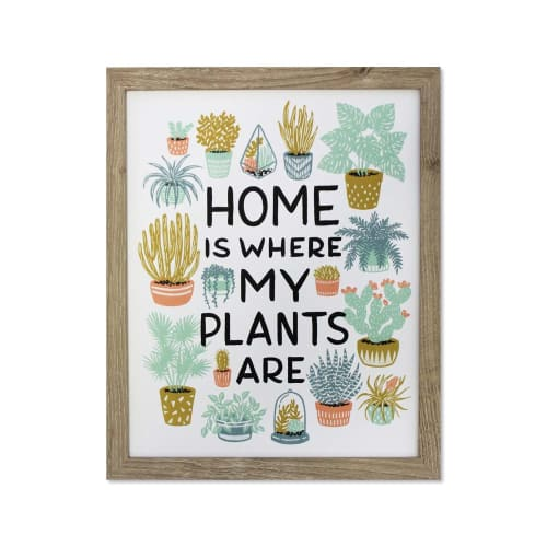 Art & Wall Decor by Wild Hart Paper by Christina Hart seen at Work Hard Plant Hard, Encinitas - House Plants Print