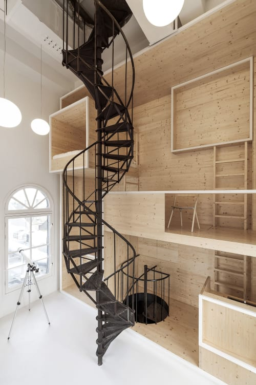 Interior Design by i29 seen at de Bijenkorf Amsterdam, Amsterdam - Room on the Roof