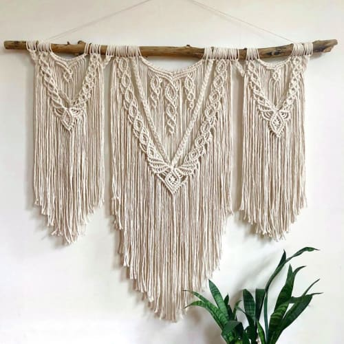ORE + WOOL by Tarah Boyd - Macrame Wall Hanging and Art