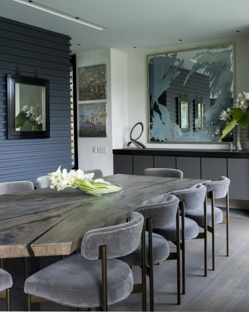 Art & Wall Decor by Stacy Milburn Studio seen at Private Residence, New Canaan, New Canaan - Mirror Artwork