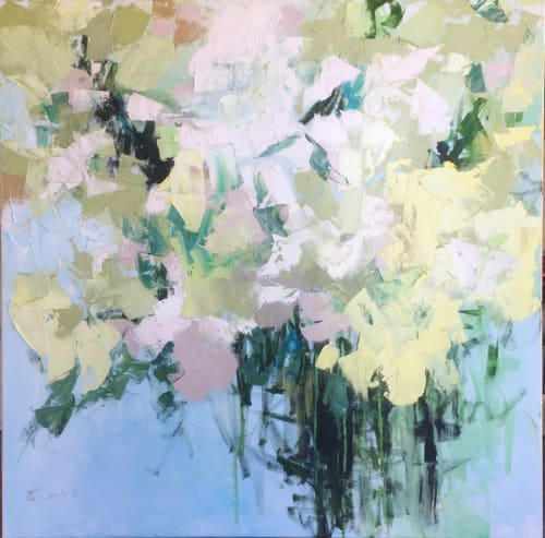 Paintings by EILEEN CORSE seen at Corse Gallery & Atelier, Jacksonville - Sweet Summer 36x36