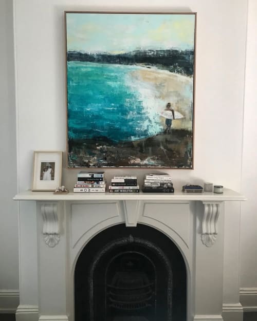 Paintings by Linda Gleeson seen at Private Residence, Sydney - Before work