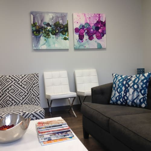 Paintings by Julie Pelaez Studios seen at Bee Cave, TX, USA, Bee Cave - Canvas Art Reproduction for Medical Waiting Room