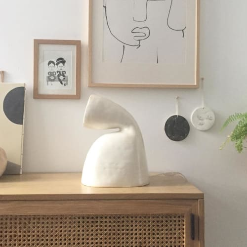 Lamps by Elisa Uberti seen at Private Residence, Tourcoing - White Lamp