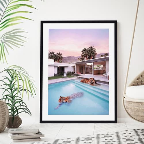 Photography by Paul Fuentes Design seen at United Kingdom, London - Palm Springs Tigers