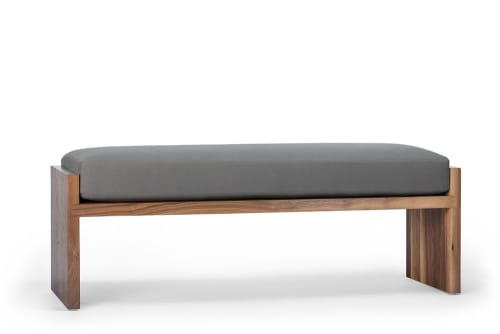 Benches & Ottomans by EK Reedy Furniture seen at Creator's Studio, Jackson - Hoback Bench