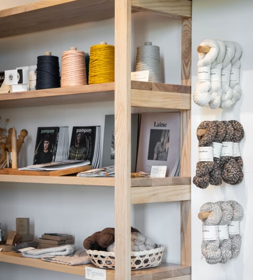 Interior Design by SHELTER COLLECTIVE seen at Weaverville, Weaverville - Echoview Fiber Mill - Retail Interior Design