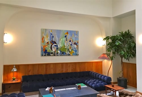 Wall Hangings by Daniel Phill seen at Tilden Hotel, San Francisco - New Gambrel