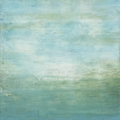 Expanse & Overhead Encaustic Paintings | Paintings by Linda Cordner