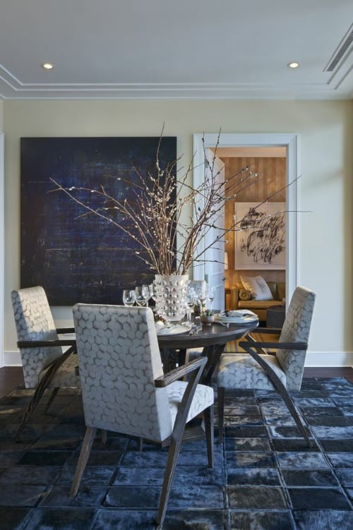 Rugs by Kyle Bunting seen at The Ritz-Carlton Residences, Chicago, Chicago - Rugs
