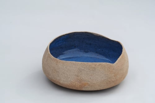 Ceramic Plates by T A R A D seen at ClayMake Studio, Maylands - Handmade Sandy Bowl