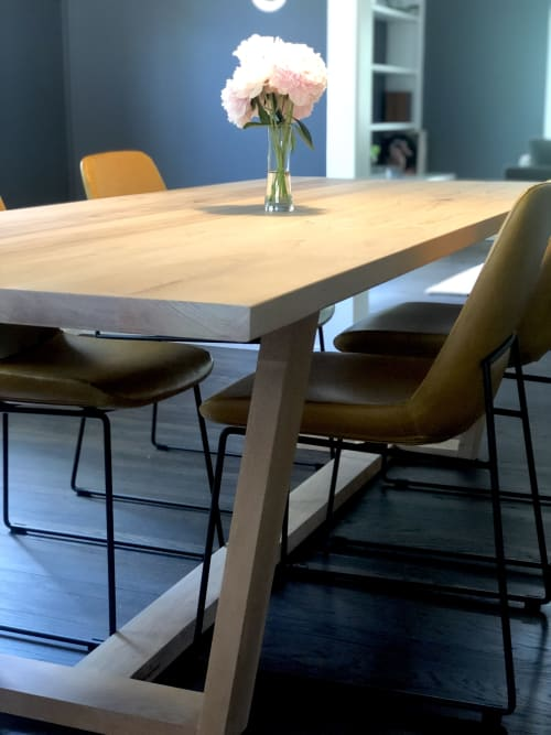 Tables by Reclaimed Theory seen at Private Residence, East Grand Rapids - Custom Request