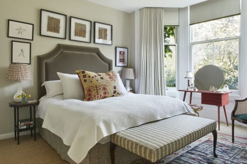 Interior Design by Rosanna Bossom Ltd seen at Private Residence, London - London Bedroom