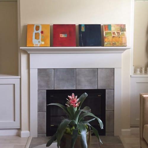 Paintings by Lisa Pressman seen at Private Residence, West Orange - Paintings