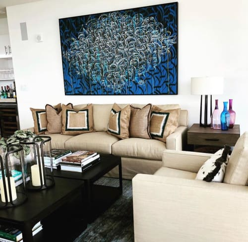 Paintings by Defer seen at Private Residence, Aspen - Painting