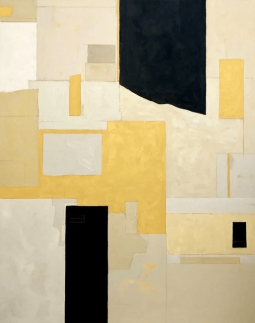 """Paintings by Rob Delamater seen at Selby's, Redwood City - """"Golden State"""", 2019"""