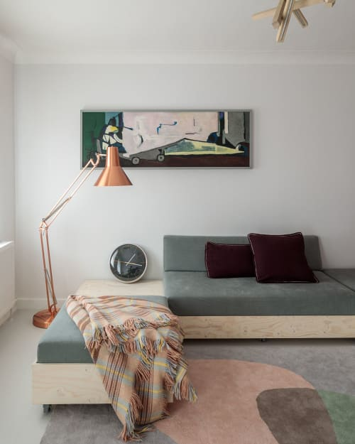 Interior Design by KM IDESIGN seen at Private Residence, London - BG HOUSE - Highgate - London