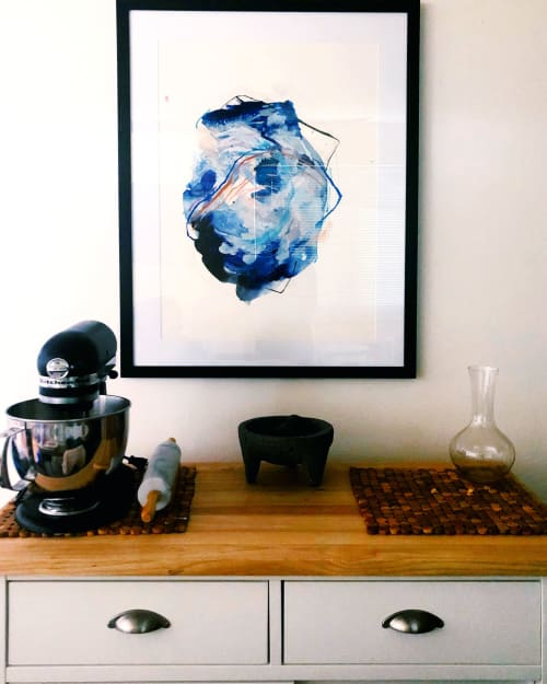 Paintings by Ariel Scholten seen at Private Residence, Denver - Abstract painting