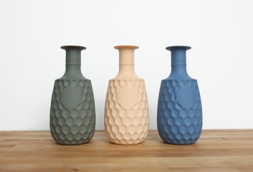 Vases & Vessels by Tiny Badger Ceramics seen at Private Residence, Richmond - Decanter Vase No. 1