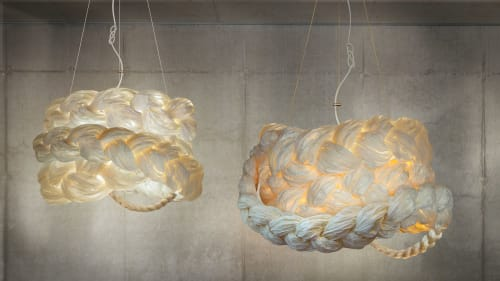 Pendants by Marie Burgos Design seen at d&d Building, New York - THE BRIDE PENDANT LIGHT