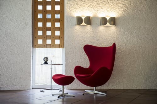 Lamps by Artemide seen at Seehotel Ambach, Campi Al Lago - Lamps