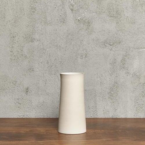Vases & Vessels by Luke Eastop seen at Blue Mountain School, London - Stone Quadric Vessel