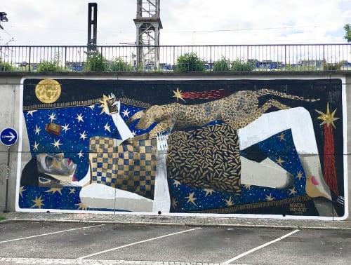 Kazy Usclef - Street Murals and Murals