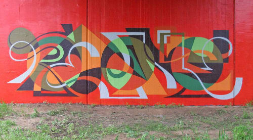Murals by MATT W. MOORE seen at Private Residence, Portland - MWM Letterforms.