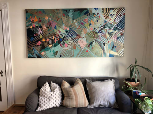 Paintings by Rae Heller seen at Private Residence, Boston - Untitled (for now)
