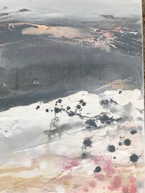 Paintings by Kathleen Rhee seen at Private Residence, Canberra - Little Pink and Grey Hills