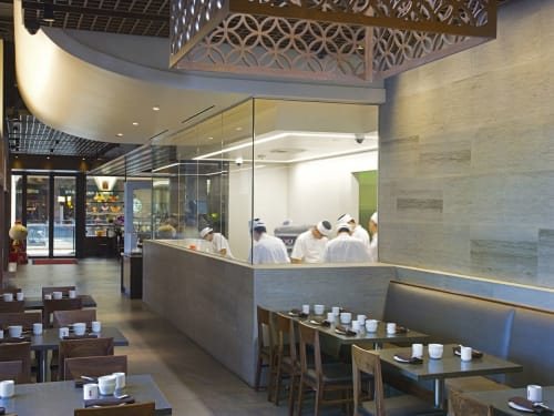 Interior Design by Anthony Poon, Poon Design Inc. seen at South Coast Plaza, Costa Mesa - Din Tai Fung Restaurant