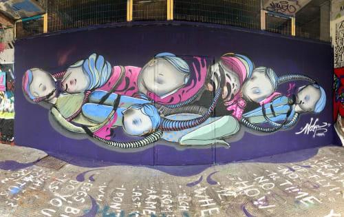 Giorgos Beleveslis (wake_ykz) - Public Art and Murals