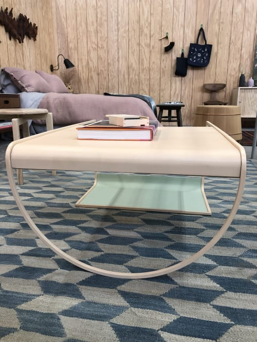 Tables by soft-geometry seen at Bay Area Made x Wescover 2019 Design Showcase, Alameda - SW Coffee Table