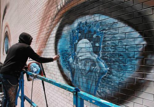 Gerada Art - Murals and Street Murals