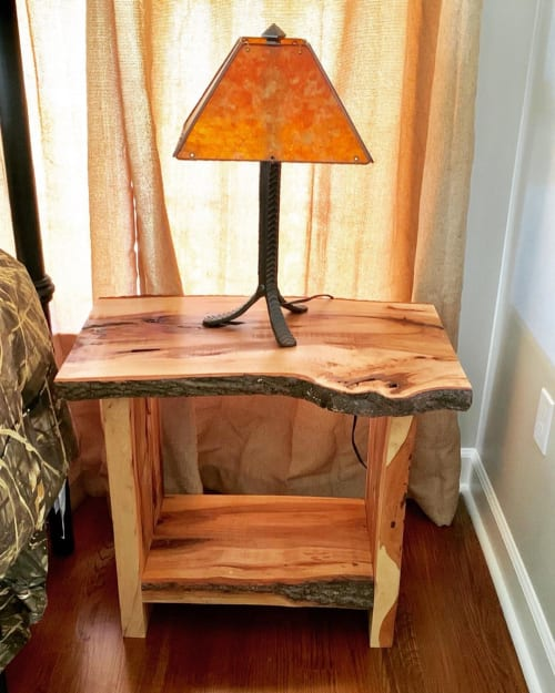 Tables by Roots Furniture LLC seen at Private Residence, Charleston - Bedside Table